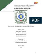 SECTOR LOS ANDES-TARAPOTO (PROBLEMATICA)