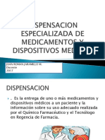 Dispensacion Especializada de Medica y Dm 2017 (1)
