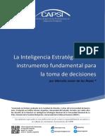 La Inteligencia Estratégica como instrumento fundamental para  la toma de decisiones