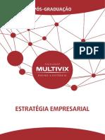 10 Apostila Pos Multivix - Estratégia Empresarial