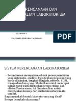 Sistem Perencanaan Dan Pengendalian Laboratorium