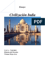 Ensayo Civilizacion India