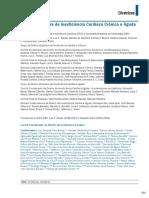 Diretriz Brasileira de Insuficência Cardíaca (IC)