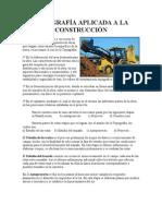 TOPOGRAFÍA APLICADA A LA CONSTRUCCIÓN