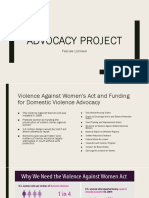 advoccy project