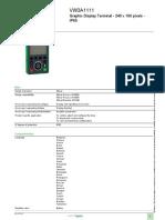 Altivar Process ATV600_VW3A1111