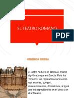 El Teatro Romano