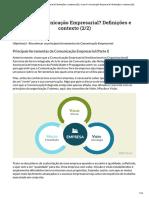 O Que é Comunicação Empresarial_ Definições e Cont