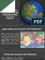 Placas Tectónicas y Corrientes de Convección