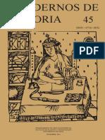 Cuadernos de Historia n 45 PDF 69 Mb