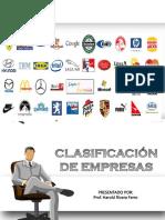 Clasificación de Empresas
