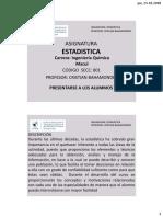 (01) ESTADISTICA I (Descriptiva parte 1 - Tablas de Distribución de Frecuencia y Graficos para Variables Cuantitativas y Cualitativas) Macul (EST-801) Ingenieria Quimica 2018-2.pdf