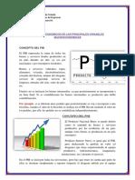 Analisis Economicos de Las Principales Variables Macroeconomicas