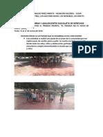 Informe de Trabajo Infantil Mes de Marzo 15 - 17