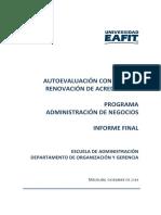 Administracion de Negocios 2014
