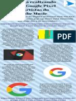 Google está realizando evento do Google Pixel 3 com artistas do YouTube Music