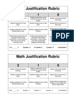math justification rubric  1