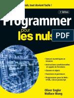 Programmer Pour Les Nuls 3e Edition Mai 2017
