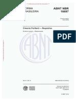 NBR 16697-2018 - Cimento Portland - Requisitos