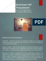 ALTERACIÓN DEL PENSAMIENTO