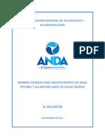 Normas tecnicas para abastecimiento de agua potable y Alcantarillados de Aguas Negras..pdf