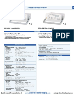 Instek Gfg 8216a Function Generator Datasheet