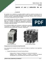 Como se usa y selecciona un contactor.pdf
