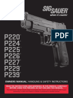 Sig Classic Line Owners Manual