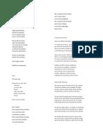 Antologia corta de poemas para una clase de literatura