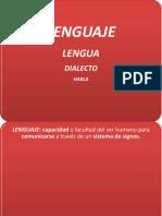 Evaluacion Lengua Lenguaje y Habla