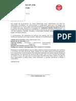 Carta CCI Dorsal Guayaca