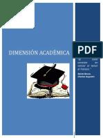 2.1. Dimension Academica