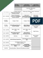 Tentatif Program Mukhayyam 2018