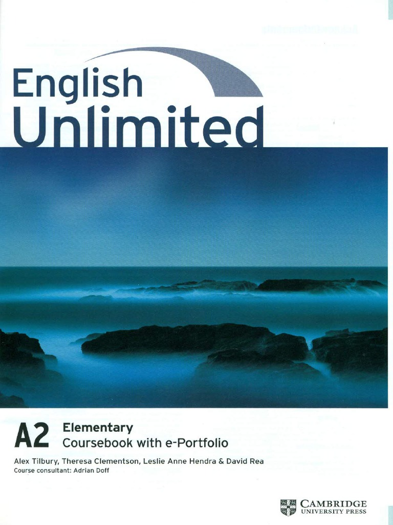 English unlimited a2 elementary coursebook