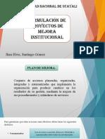Plan de Mejora Institucional. Unid II [Autoguardado] [Autoguardado]