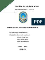Laboratorio de Inorganica N° 6