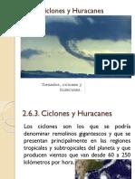Ciclones y Huracanes