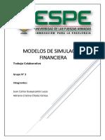 Trabajo Colaborativo Modelos de Simulación Financiera