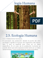 2.5. Ecologia Humana