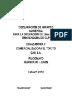 Dia-pe-Envasadora y Comercializadora El Torito Gas s.a.-pilcomayo