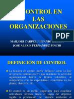 Control en Las Organizaciones