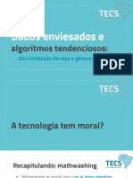 Dados Enviesados e Algoritmos Tendenciosos - Discriminação de Raça e Gênero Na Tecnologia
