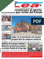 Periódico Lea Lunes 05 de Noviembre Del 2018
