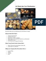 Resep Roti Manis dan Cara Membuatnya.docx