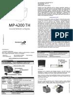 Manual MP4200TH - Guia Rápido