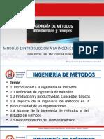 Modulo 1 Introducción a La Ingeniería de Métodos