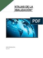 Ventajas de La Globalización