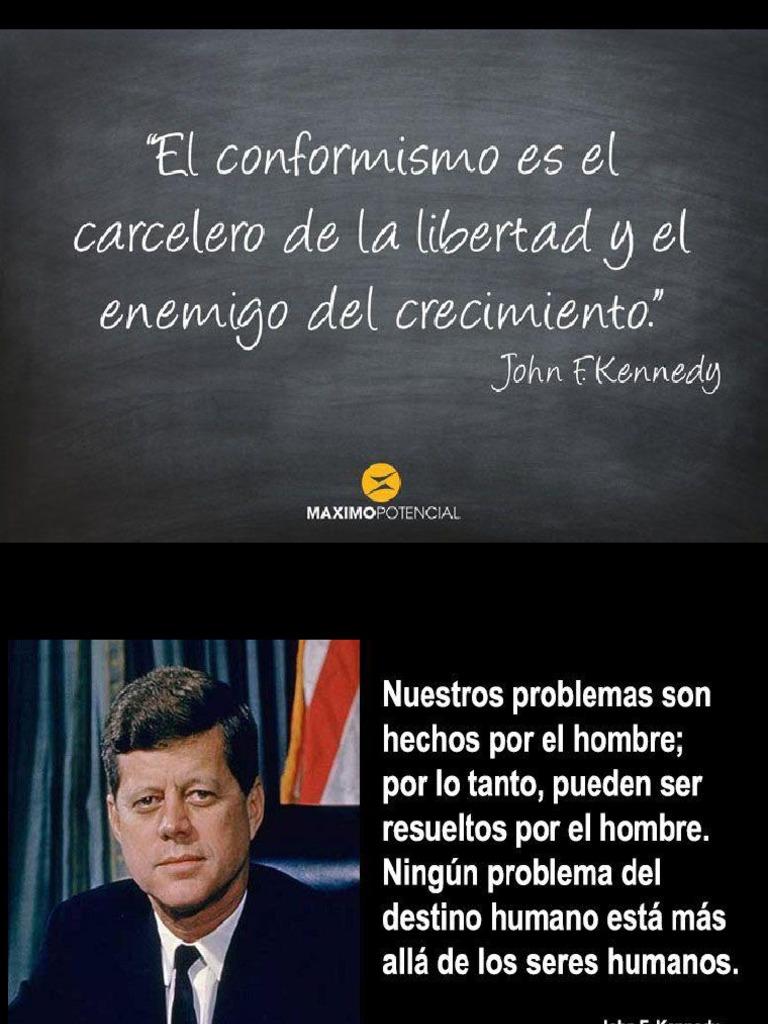 Frases John F Kennedy