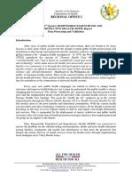 Proposal RPRH (First Quarter)