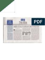 Rifkin Invita Lombardo Alla Rivoluzione